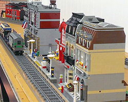 Arcade Barbers LEGO City.