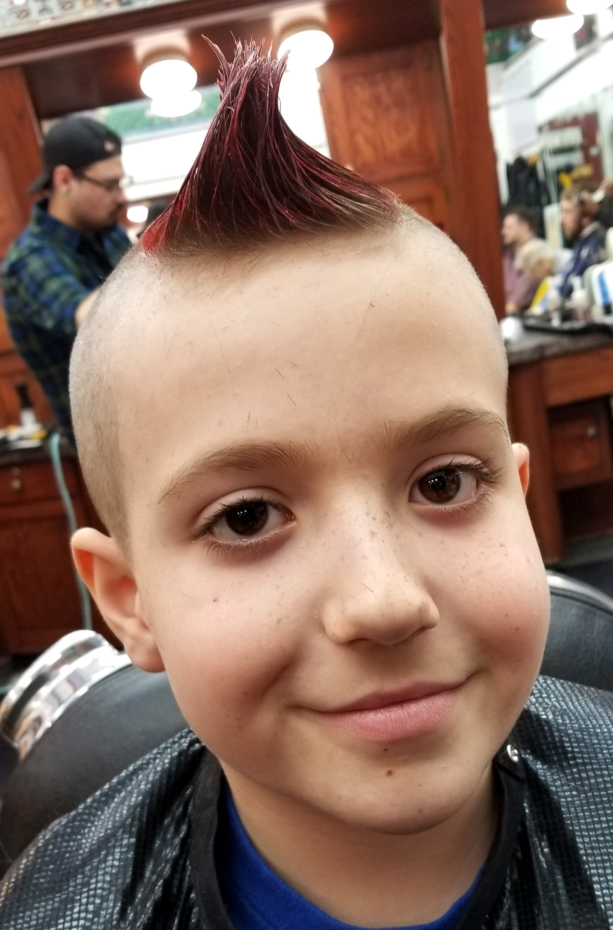 Arcade Barbers Kid Client